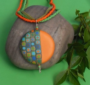 Make your own stones from polymer clay