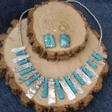 turquoise show piece