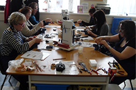 Our class showing Jewellery Making Classes in Derbyshire