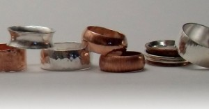Make A Silver Ring In A Day at Silverpetal studio