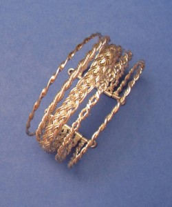 Wire twisting and weaving