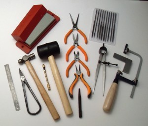 jewellery making classes Nottingham and the surrounding areas, see here a selection of our tools
