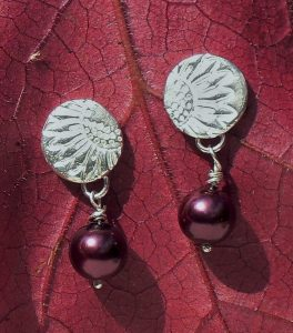 PMC, Silver Clay and Art Clay earrings
